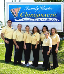 Office Staff the Family center for chiropractic